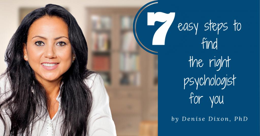 7 easy steps to find psychologist