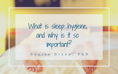 What is sleep hygiene, and why is it so important?
