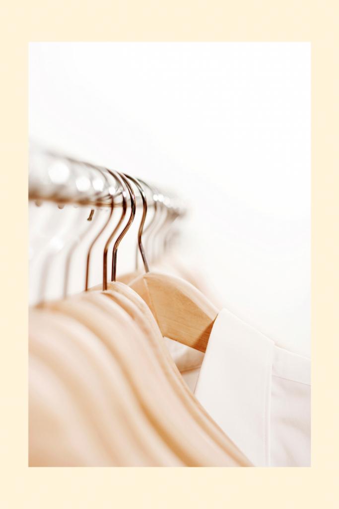 denisedixonphd konmari closet hangers