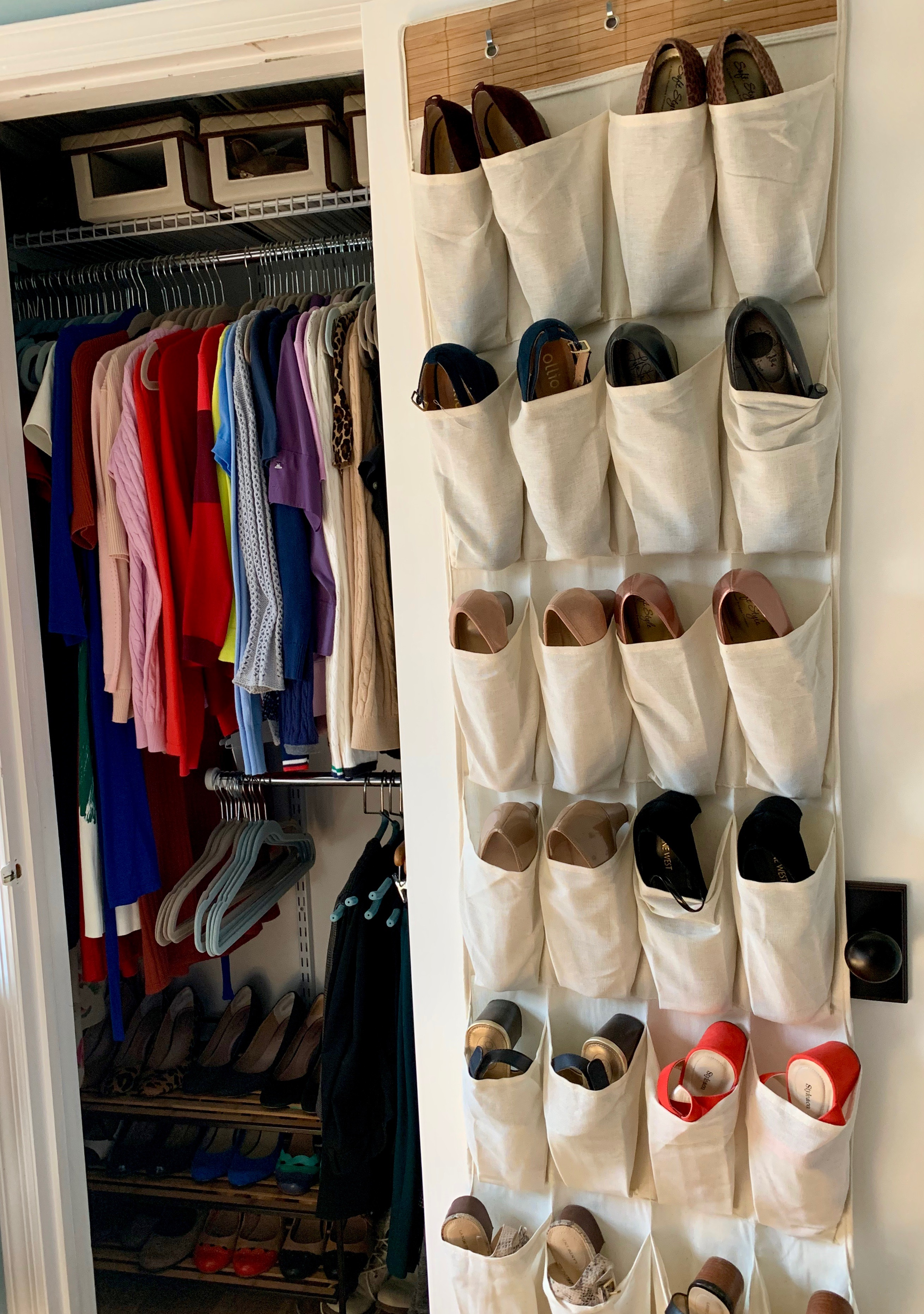 konmari clothing category all clothes in closet