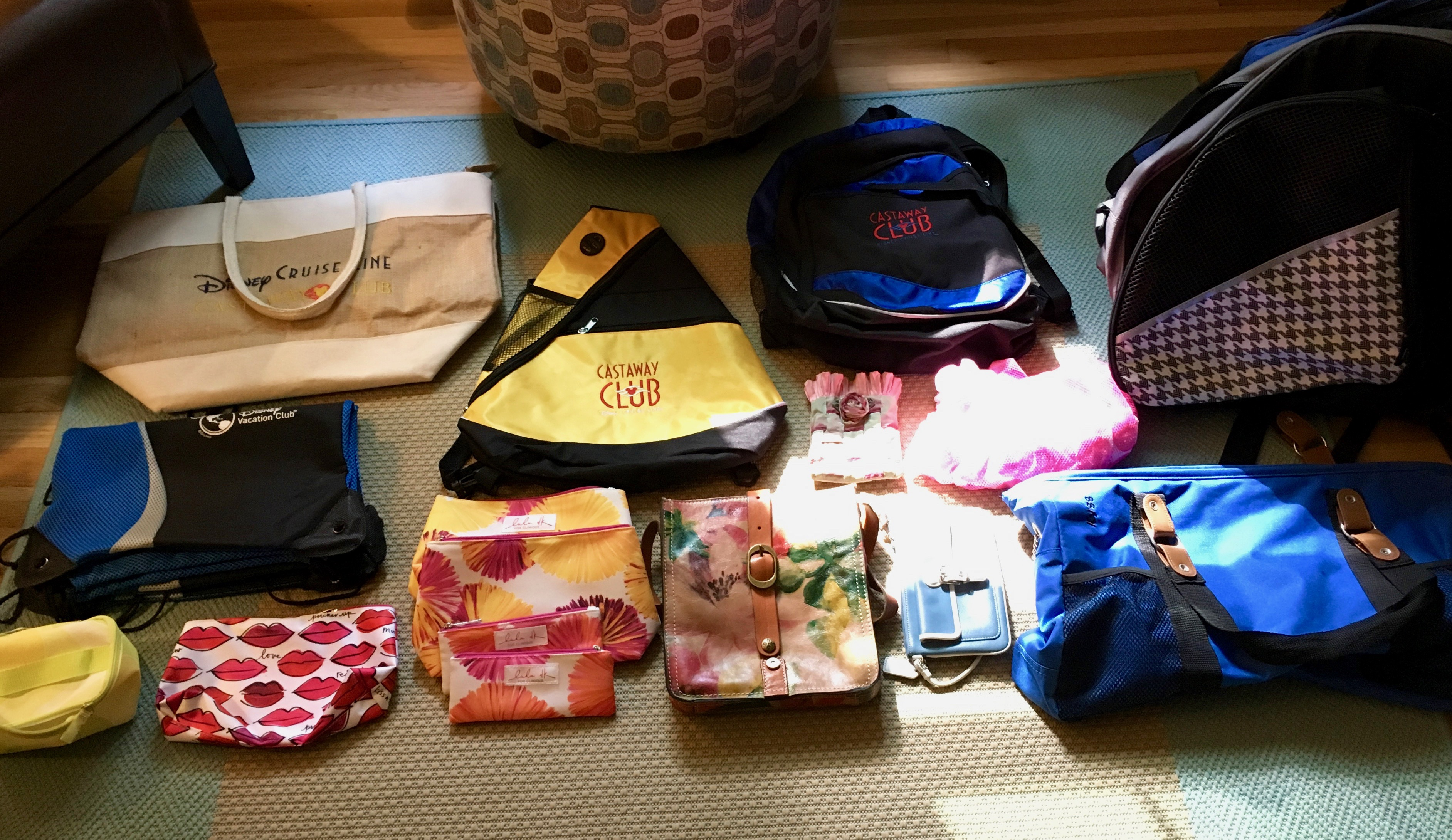 konmari clothing category subcategory bags after