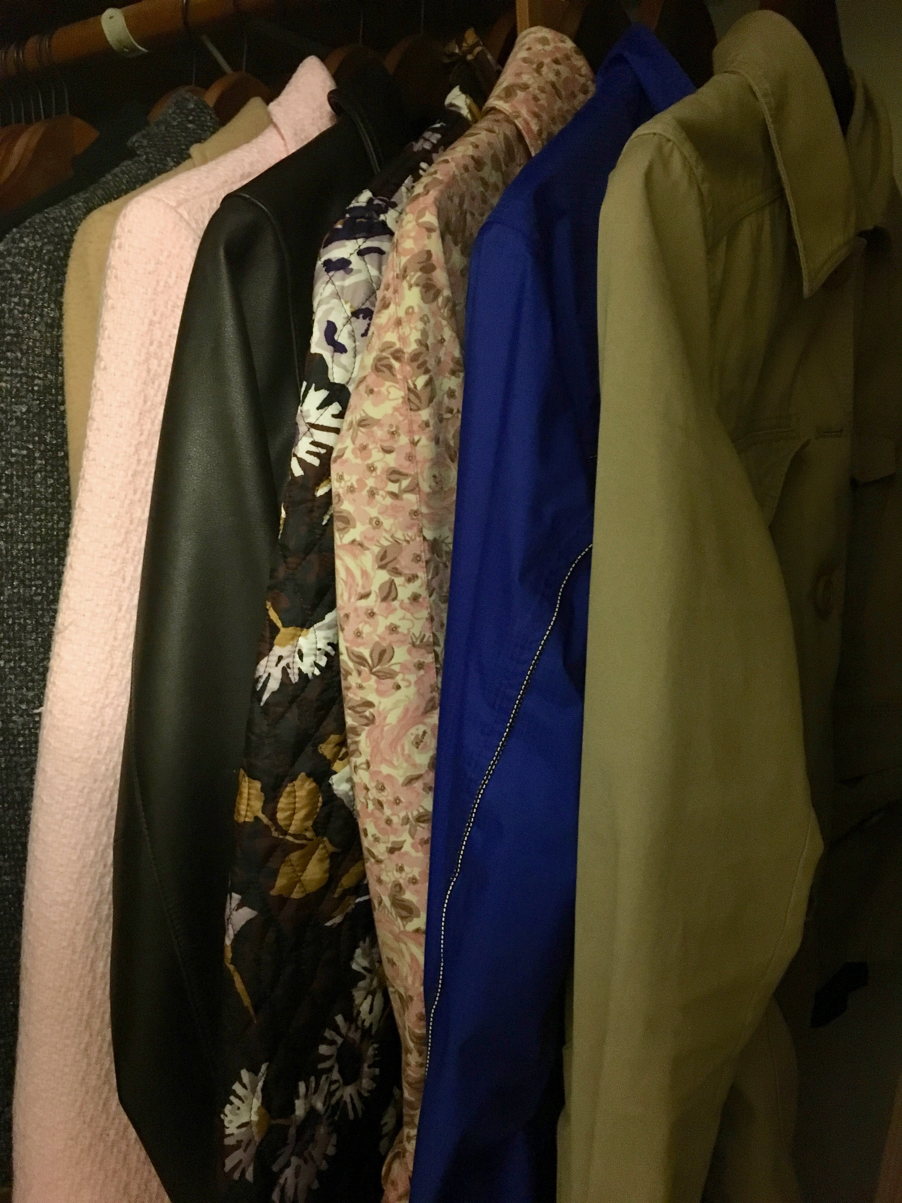 konmari clothing category subcategory outerwear after closet