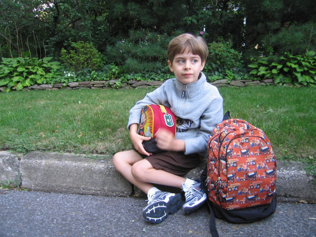 first day of kindergarten filled with hopes and dreams