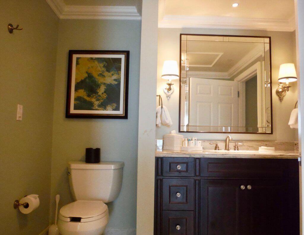 DVC GFV bath vanity with toilet