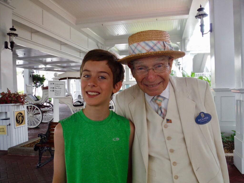 Beloved Grand Floridian greeter Richard Gerth