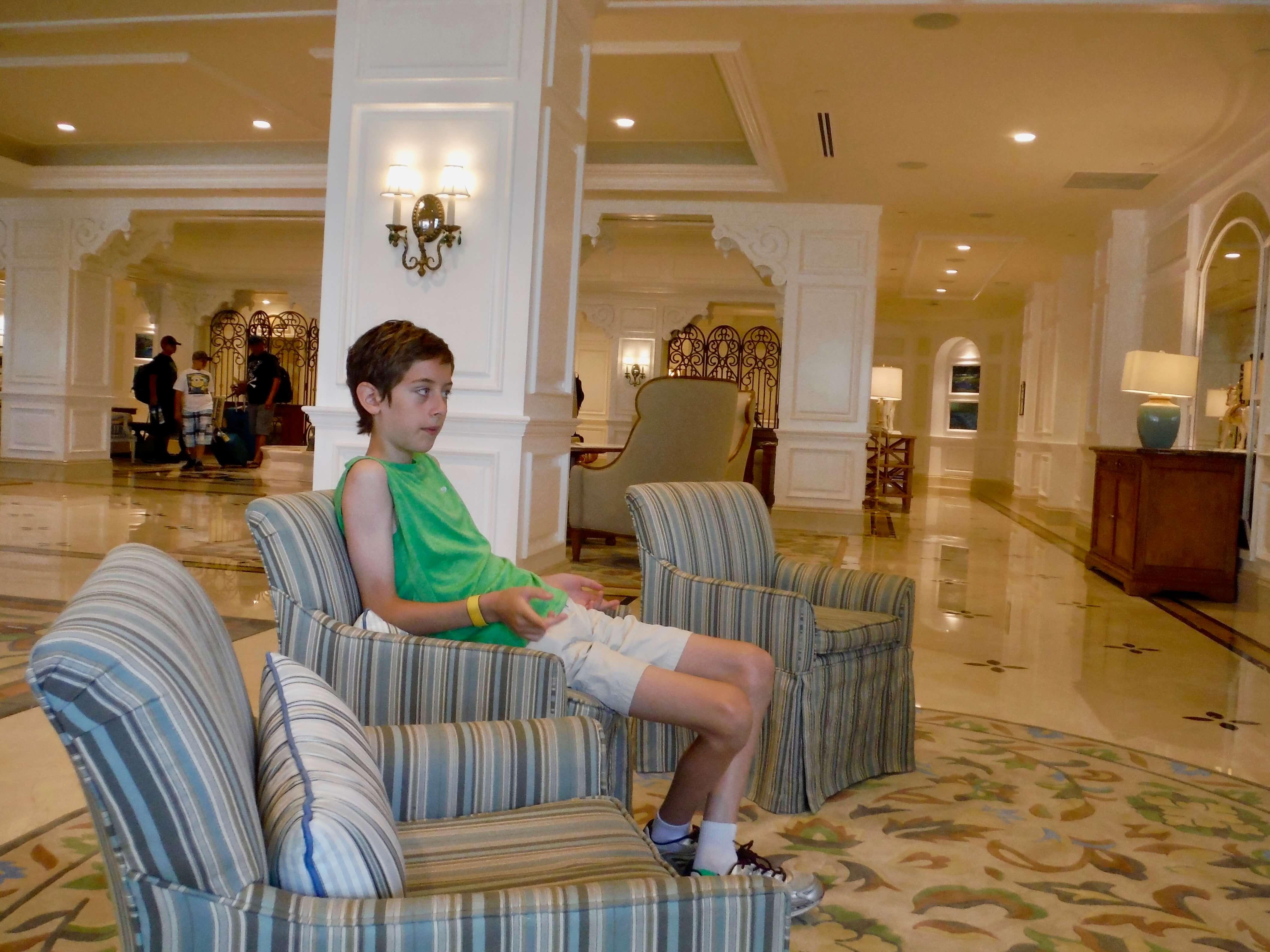 DVC GFV lobby childrens seating
