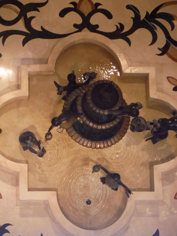 DVC GFV lobby fountain aerial
