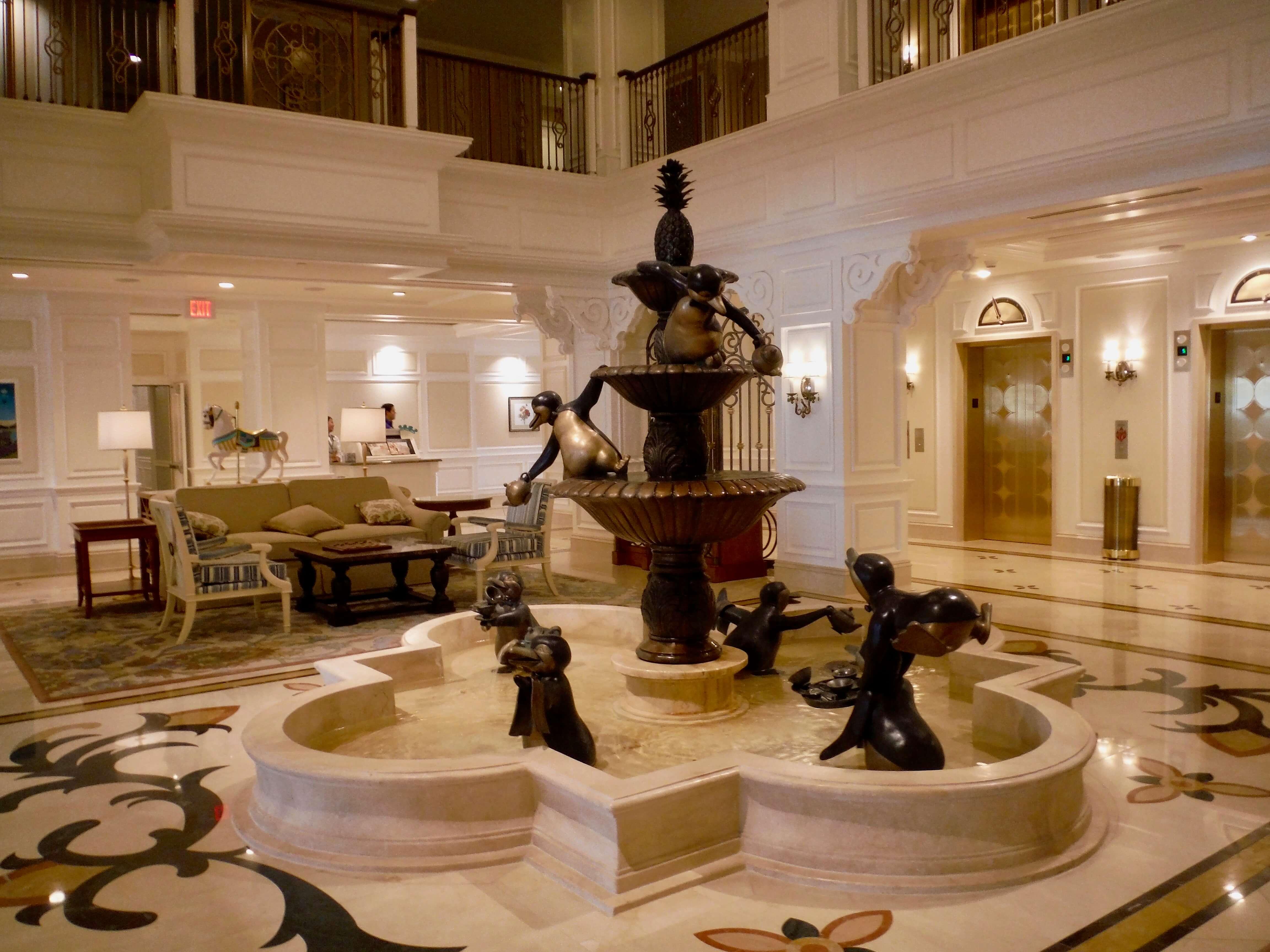 DVC GFV lobby fountain