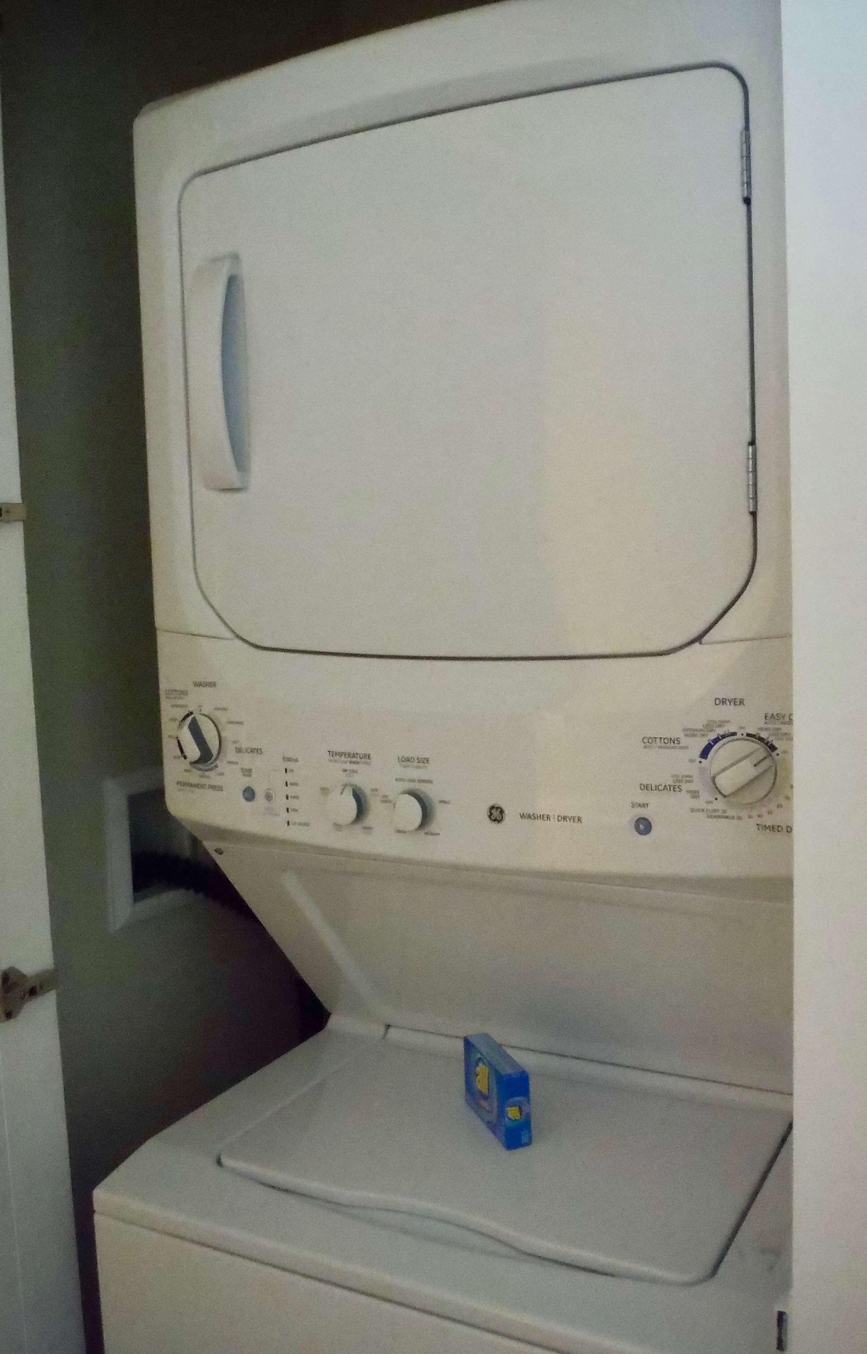 DVC GFV washer dryer