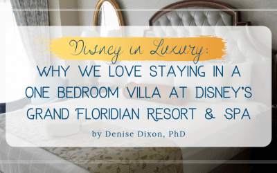 DVC GFV: Why we love staying in a one bedroom villa at Disney's Grand Floridian Resort & Spa