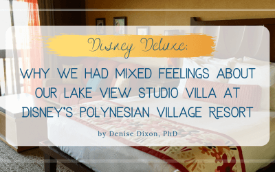 DVC PVB: Why we had mixed feelings about our Lake View Studio at Disney's Polynesian Villas & Bungalows