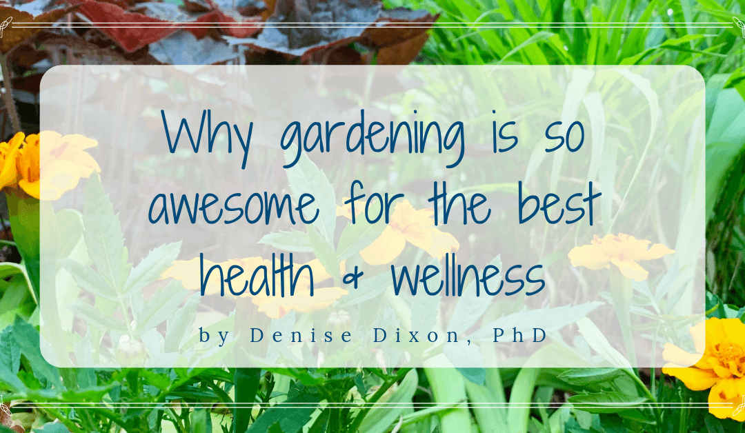 gardening health wellness