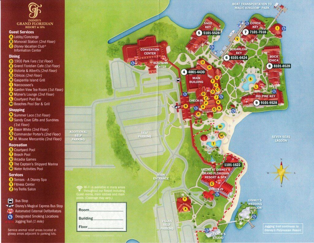 GFV map