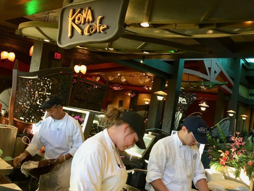 Polynesian Kona Cafe Sushi chefs