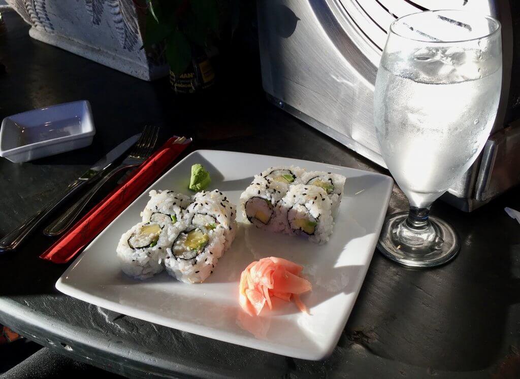 kona cafe sushi