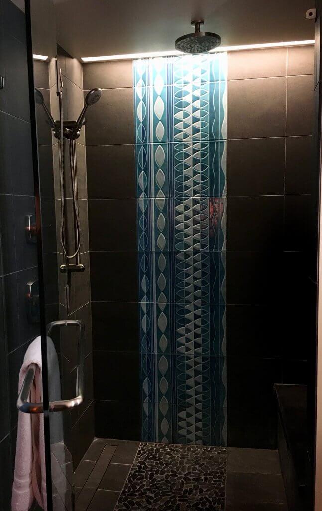 PVB studio bathroom shower