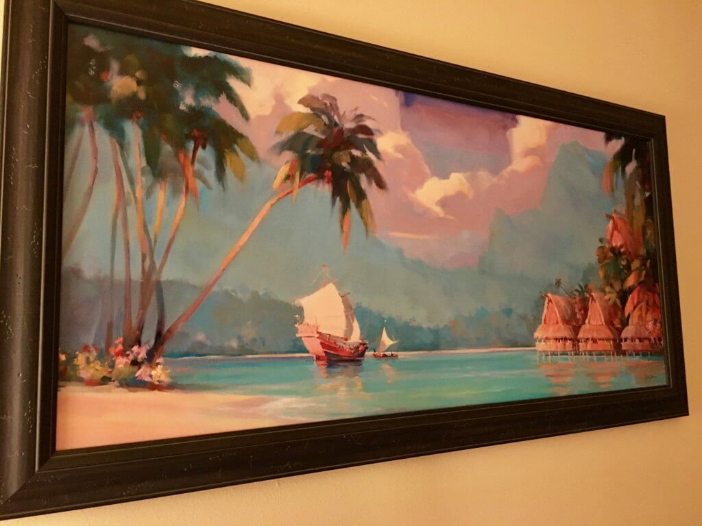 Polynesian studio wall decor