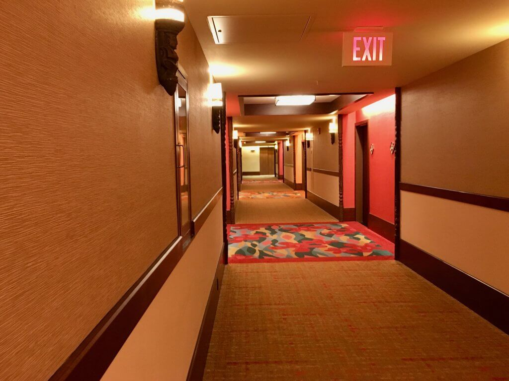 DVC PVB studio villas hallway