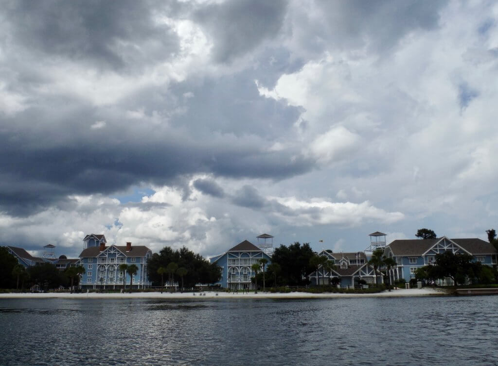 Disney's Beach Club view from lake