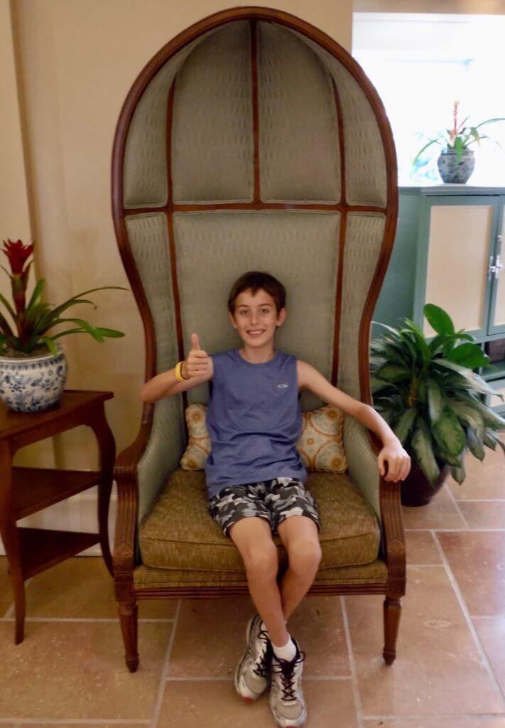 DVC BCV: So much to love about our one bedroom villa at Disney's Beach Club Resort lobby chair