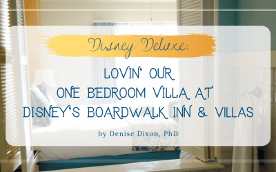 DVC BWV: Lovin' our one bedroom villa at Disney's Boardwalk Inn & Villas