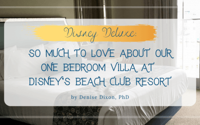 DVC BCV: So much to love about our one bedroom villa at Disney's Beach Club Resort