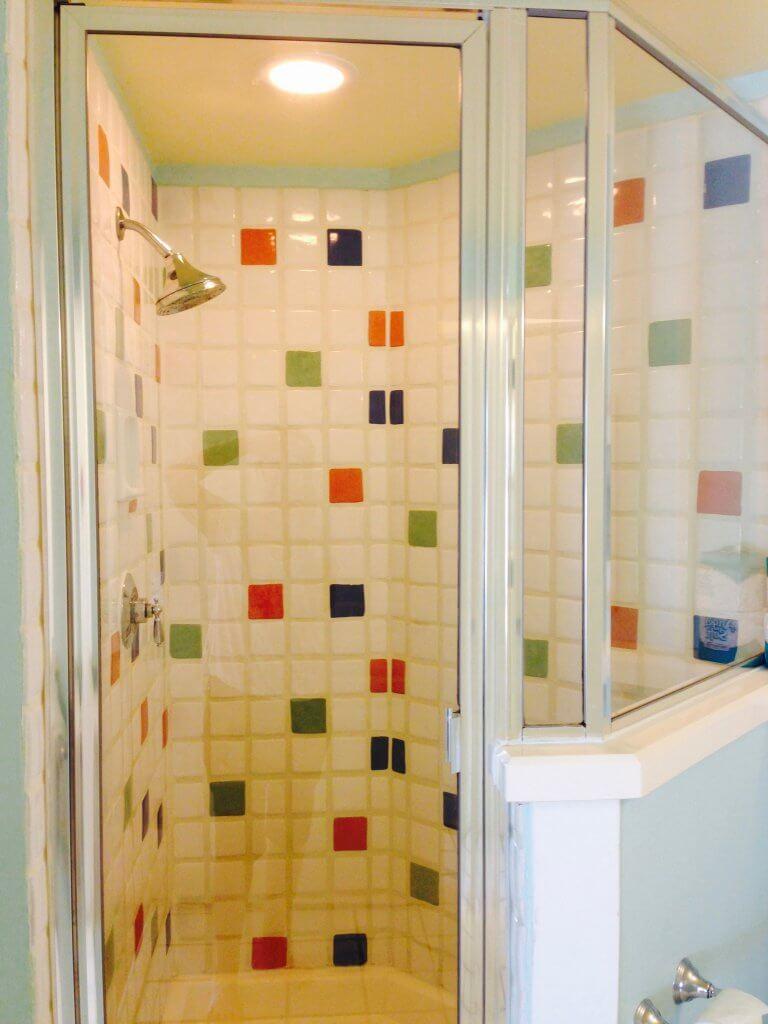 Boardwalk inn one bedroom villa shower