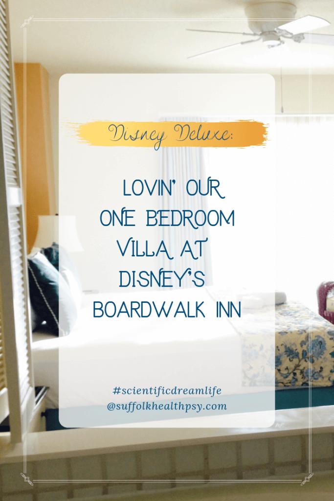 DVC Boardwalk one bedroom villa pinterest image