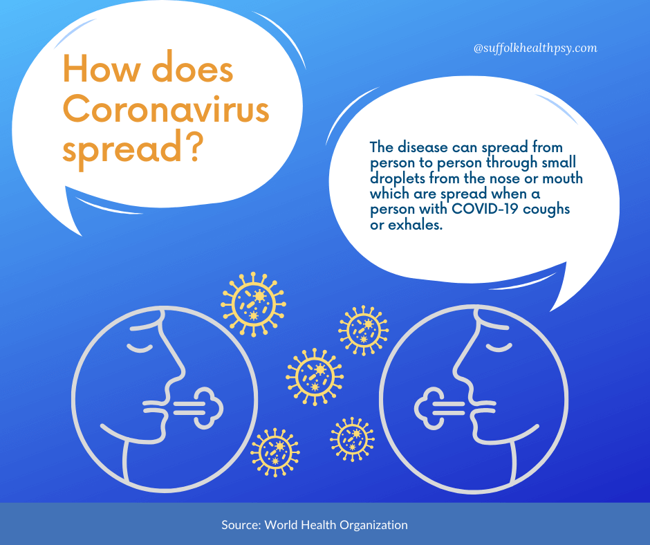 stay protected and protect others: how does coronavirus spread